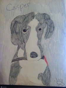 Julia of Drawings for Pit Bulls and those who love 'em